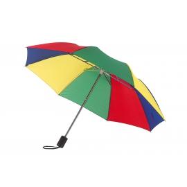 Parasol, REGULAR, biały/wielokolorowy