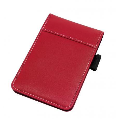 Notatnik w etui, GENTLE, czerwony