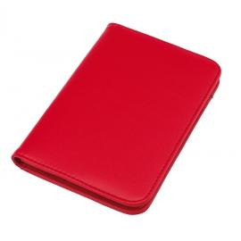 Mini portfolio z kalkulatorem, TINY, czerwony