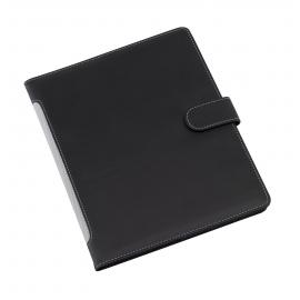 Portfolio, A5, WIDGET, czarny/szary