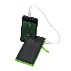 Powerbank, HELIOS, czarny/zielony