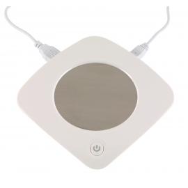 Podgrzewacz do kubka USB, HEAT IT, biały