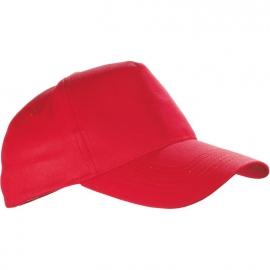 Czapka z daszkiem Coimbra, czerwony