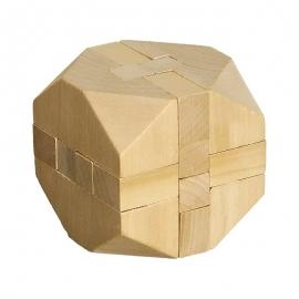 Układanka logiczna Cube, ecru