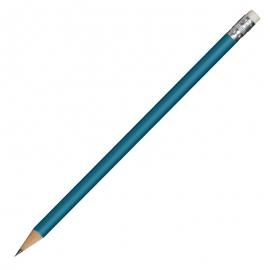 Ołówek drewniany, niebieski