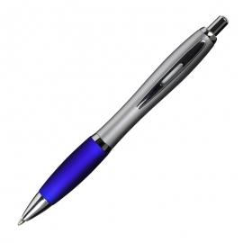 Długopis San Jose, niebieski/srebrny