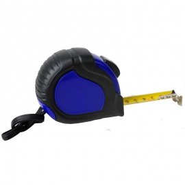 Miarka zwijana 5 m Correct, niebieski/czarny