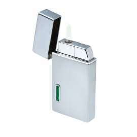 Zapalniczka, VERDE, srebrny/zielony