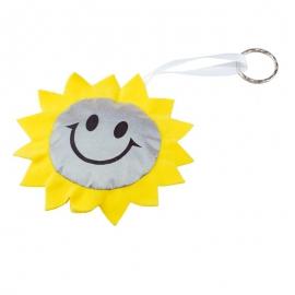Maskotka odblaskowa Sun, żółty/srebrny