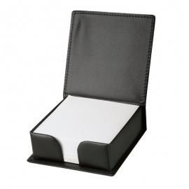 Podstawka na karteczki Box, czarny