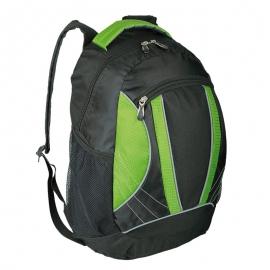 Plecak sportowy El Paso, zielony/czarny