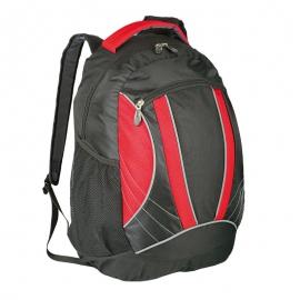 Plecak sportowy El Paso, czerwony/czarny