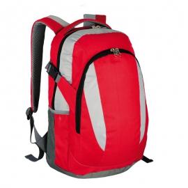 Plecak sportowy Visalis, czerwony/szary