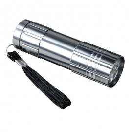 9-diodowa latarka Jewel LED, grafitowy