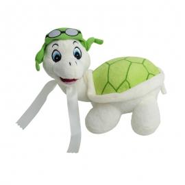 Maskotka Tortoise, zielony/biały