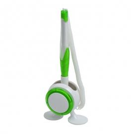 Długopis na stojaku Jot & Box, zielony/biały