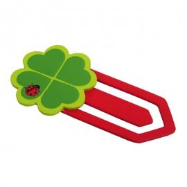 Zakładka Clover, czerwony/zielony