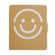 Zestaw do kolorowania Smiley, brązowy/biały