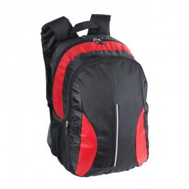 Plecak uniwersalny Des Moines, czerwony/czarny