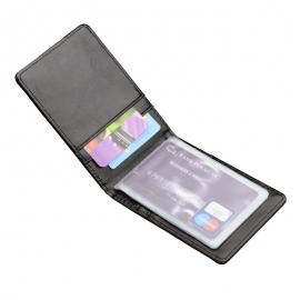 Etui na karty kredytowe Classic, czarny