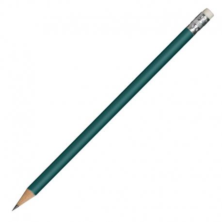 Ołówek drewniany, ciemnozielony