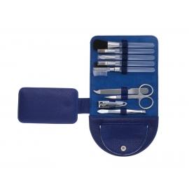 Zestaw do manicure, BEAUTY, niebieski