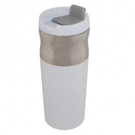 Kubek izotermiczny Ottawa 450 ml, biały