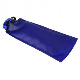 Składany bidon Flat 600 ml, niebieski