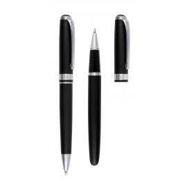 Zestaw do pisania, SKRIPTUS, czarny/srebrny