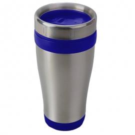 Kubek izotermiczny Boden 430 ml, niebieski/srebrny