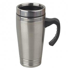 Kubek izotermiczny Vancouver 380 ml, srebrny