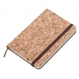 Notatnik 90x140/80k kratka Montiel, brązowy