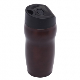 Kubek izotermiczny Edmonton 270 ml, brązowy