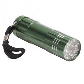 9-diodowa latarka Jewel LED, zielony