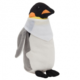 Maskotka Penguin, biały/szary