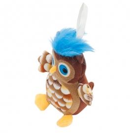 Maskotka Owl, brązowy