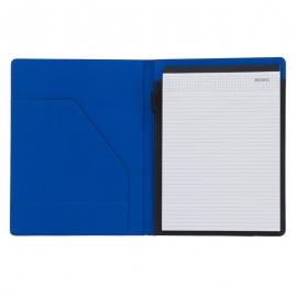 Teczka A4 Melfi, niebieski/czarny