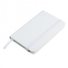 Notatnik 130x210/80k kratka Asturias, biały