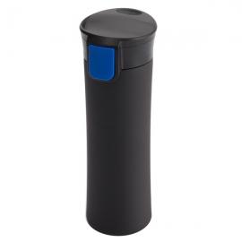 Kubek izotermiczny Montreal 535 ml, niebieski/czarny
