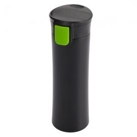 Kubek izotermiczny Montreal 535 ml, jasnozielony/czarny