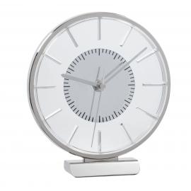 Zegar na biurko, AALBORG, srebrny