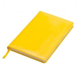 Notatnik 130x210/80k kratka Sheen, żółty