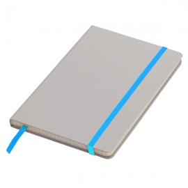 Notatnik 130x210/80k kratka Cartagena, jasnoniebieski/szary