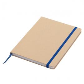 Notatnik 145x210/80k kratka Lisboa, niebieski/beżowy
