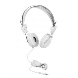 Słuchawki, HURRICANE, biały