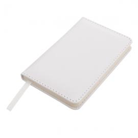 Notatnik 90x140/80k kratka Luster, biały