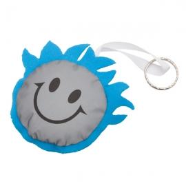 Maskotka odblaskowa Smiling Boy, niebieski/srebrny
