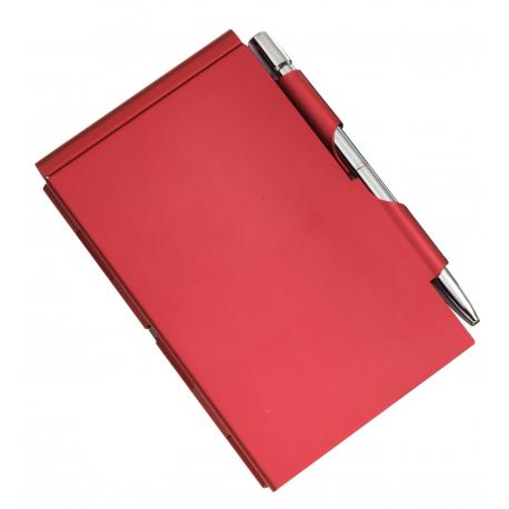 Notatnik, MEMO, czerwony