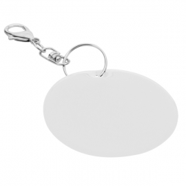 Brelok odblaskowy Reflect, srebrny