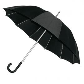 Elegancki parasol Basel, czarny